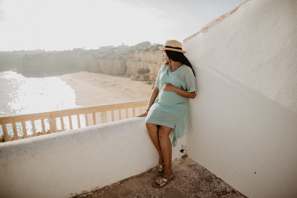 babymoon maternity session algarve portugal photographer