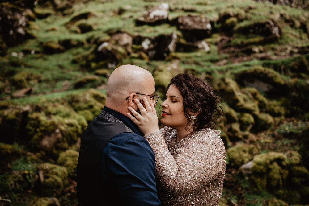 Lapela Photography Isle of Skye Elopement Fairy Glen