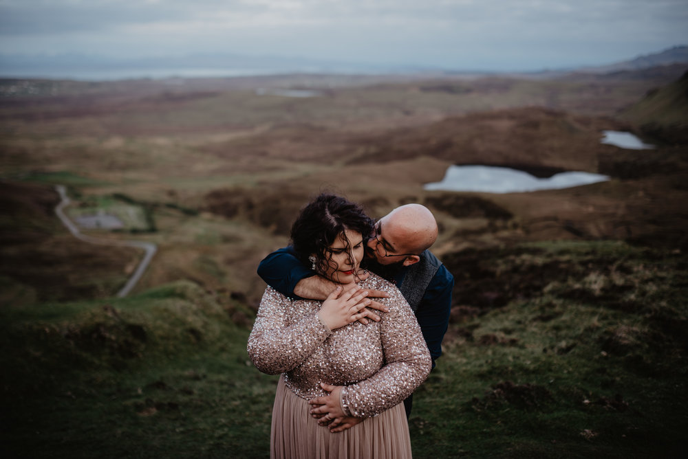Lapela Photography Isle of Skye Elopement at Quiraing