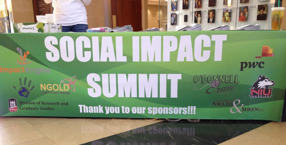 2013 Social Impact Summit Banner