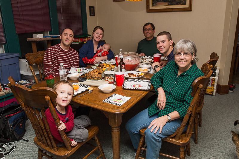Christmas Eve - Josh's Side of the Family