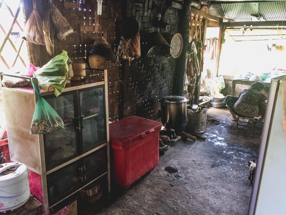 Noodle Shop Kitchen.