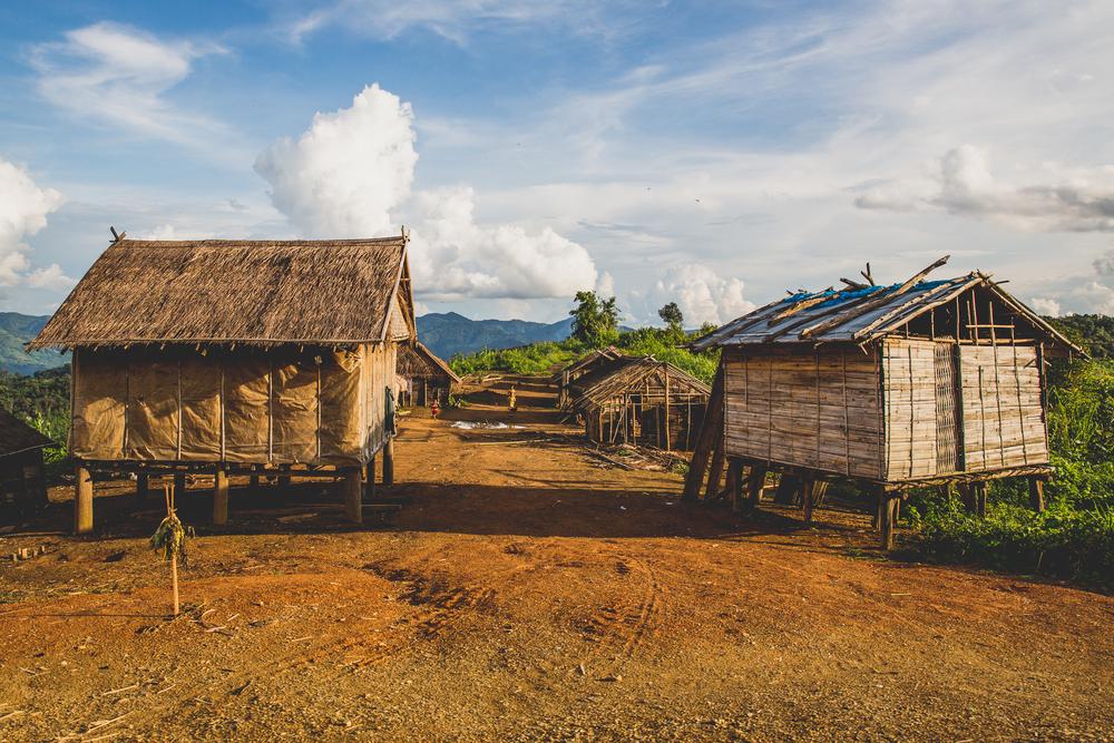 Work village.