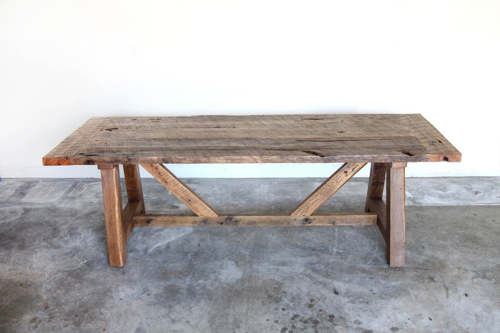 Plank Dining Table | Reclaimed Oak