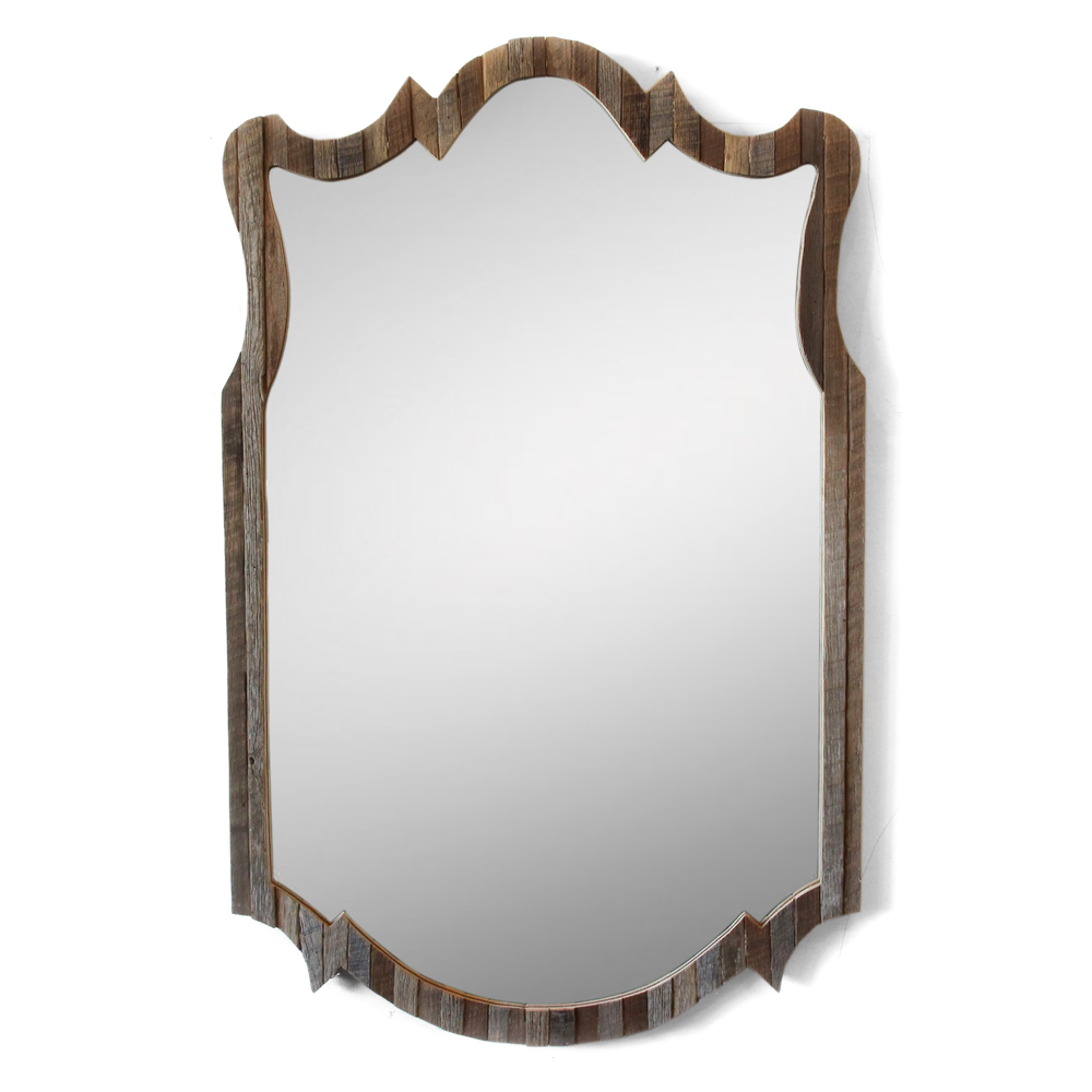 The Jenkins | Decorative Vanity Mirror | Reclaimed Oak