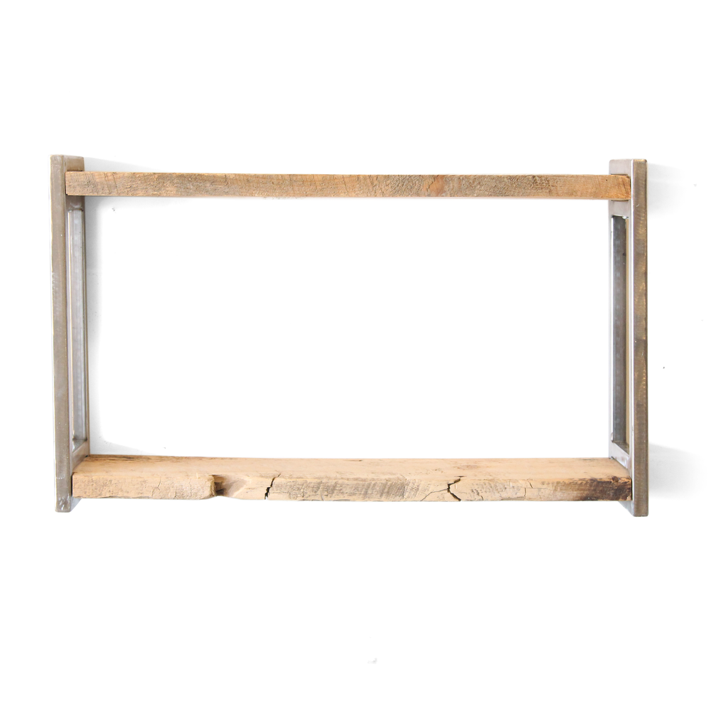Shelf | Double Framed | Salvaged Timber
