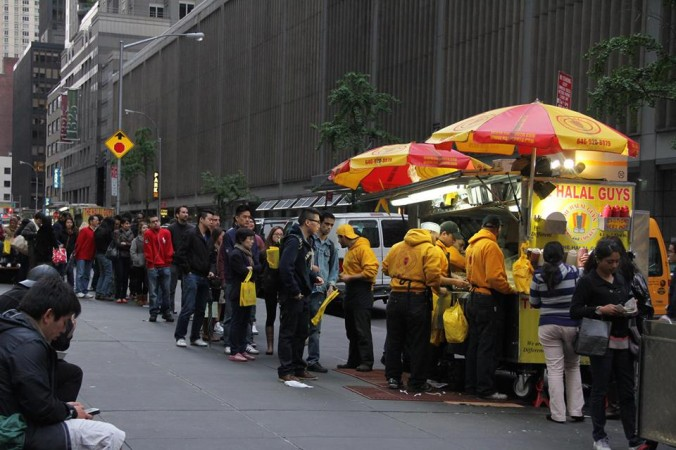 53rd & Sixth Food Cart - The Halal Guys
