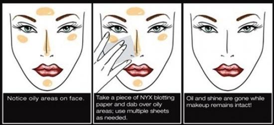 """10. И последний важный атрибут это матирующие салфетки """"Oil Control"""". Они помогут сохранить свежесть лица и макияжа в течении всего дня!"""
