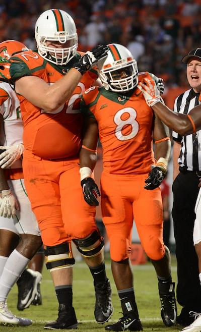 Orange over Orange (Credit: Miami Hurricanes)
