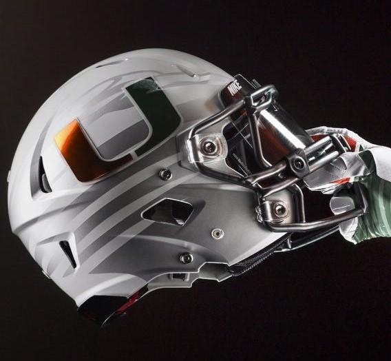 Gray Helmet (Credit: Nike)