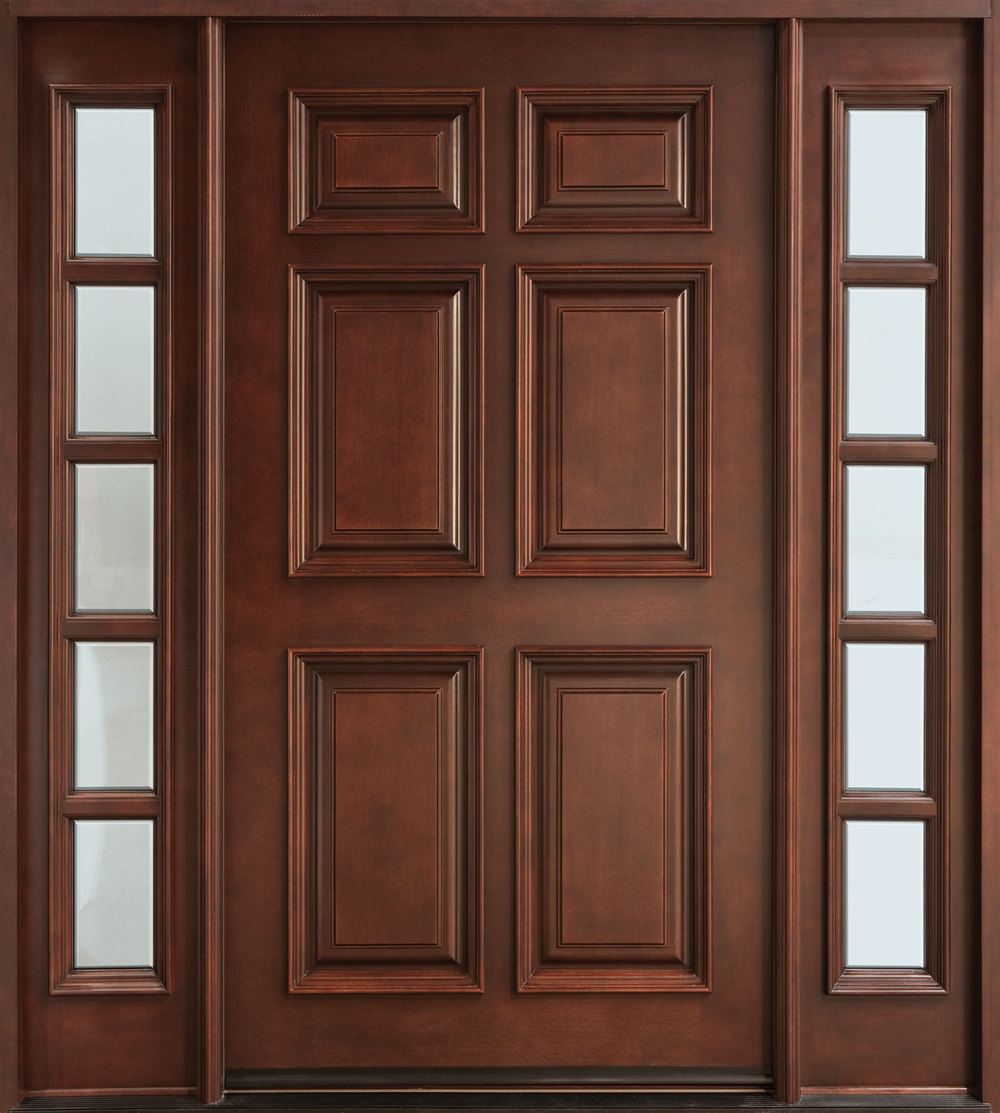 Beautiful Solid Wood Doors Are The Most Secure And Beautiful Doors. A Solid Wood Door  From A High Quality Manufacturer When Maintained And Finished Properly Will  ...