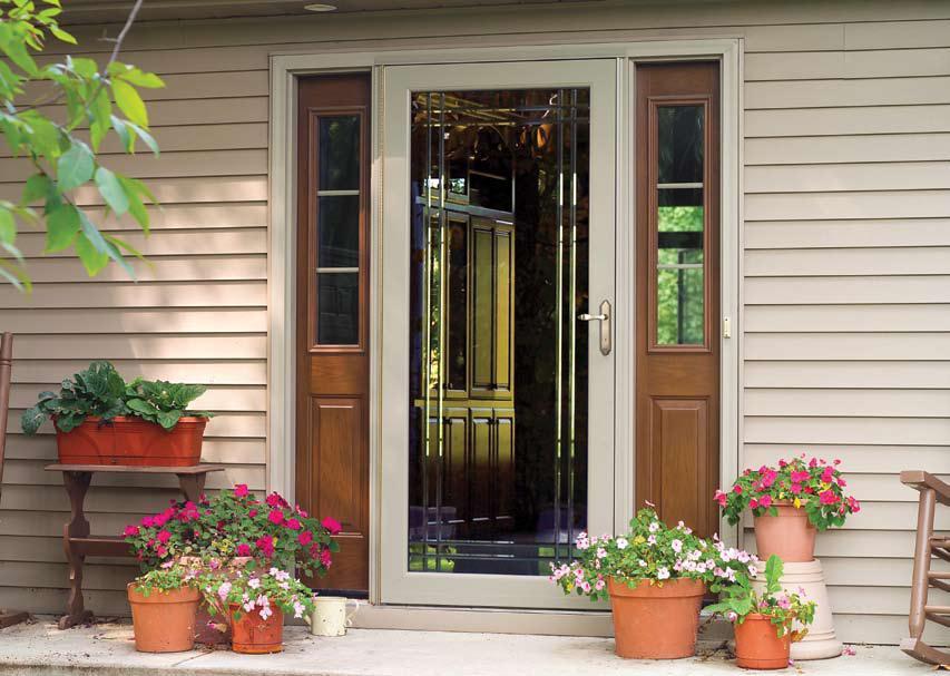 Delicieux Aluminum Storm Door