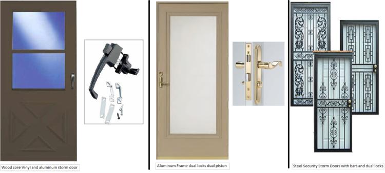 Aluminum Storm Door storm doors — windows and doors made simple