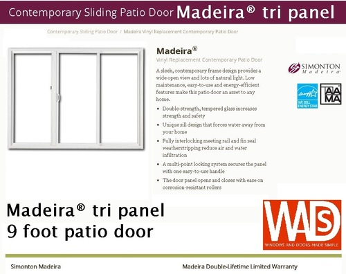 Simonton Patio Door Packages Windows And Doors Made Simple