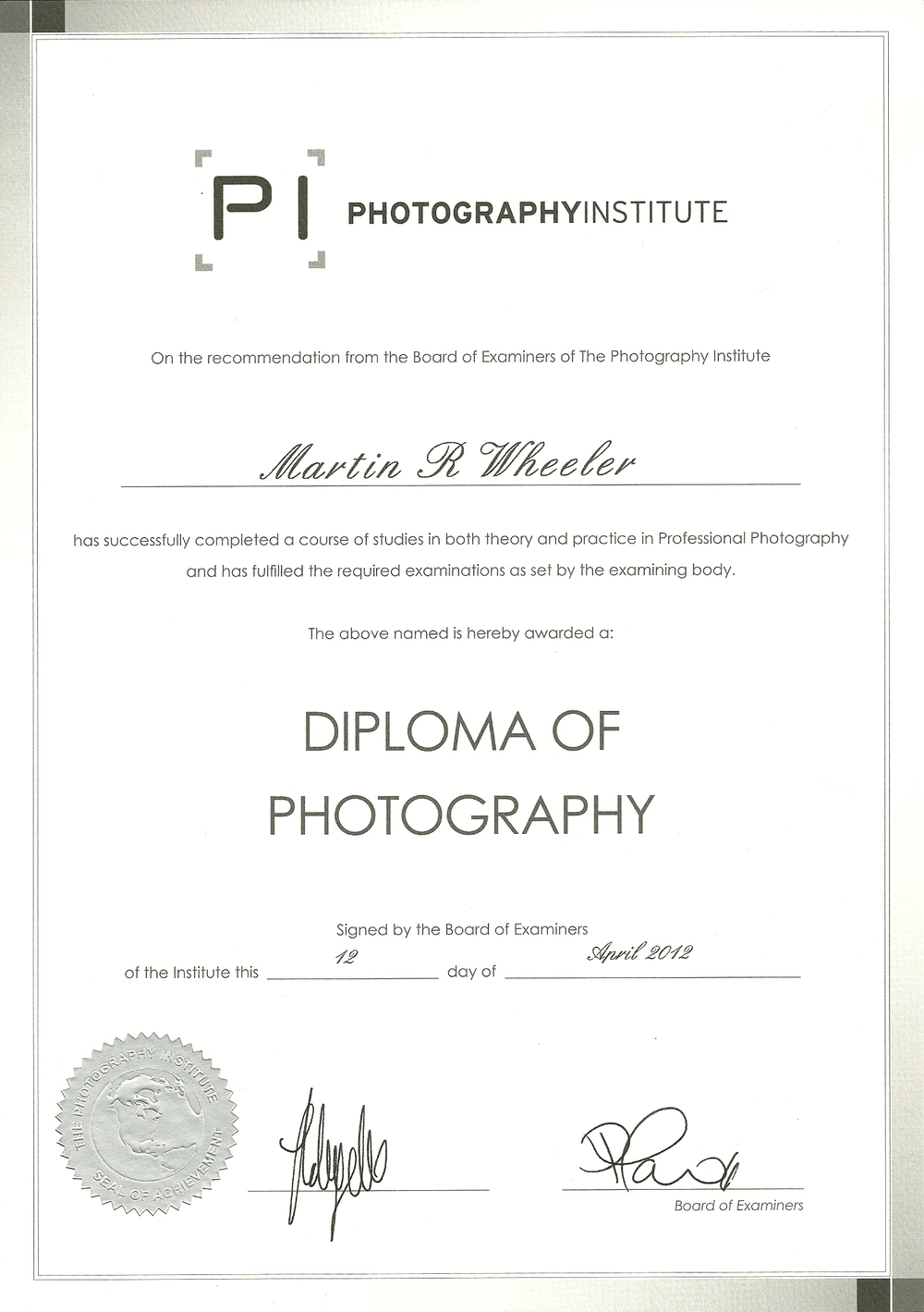 About mrw photography the photography institute diplomag 1betcityfo Gallery