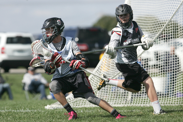 Pictured: Tommy Coyne and Chase Showalter @ the Inside Lacrosse Invitational