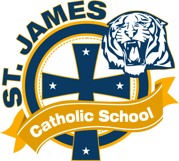 St. James redesigns logo!