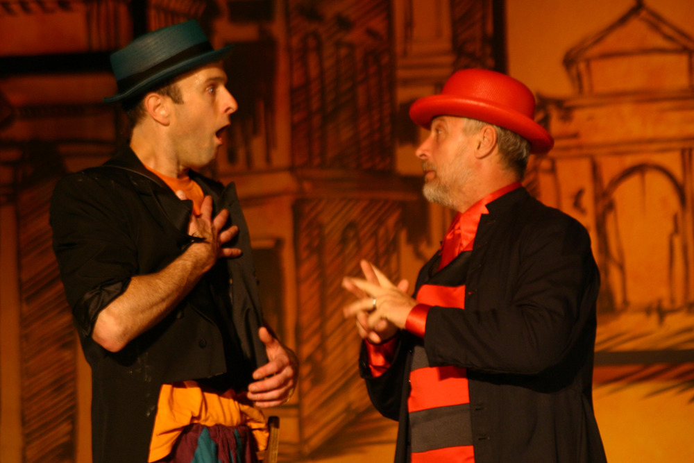 That Scoundrel Scapin - Scapin (James Michael Reilly), Geronte (Robert LuPone).jpg