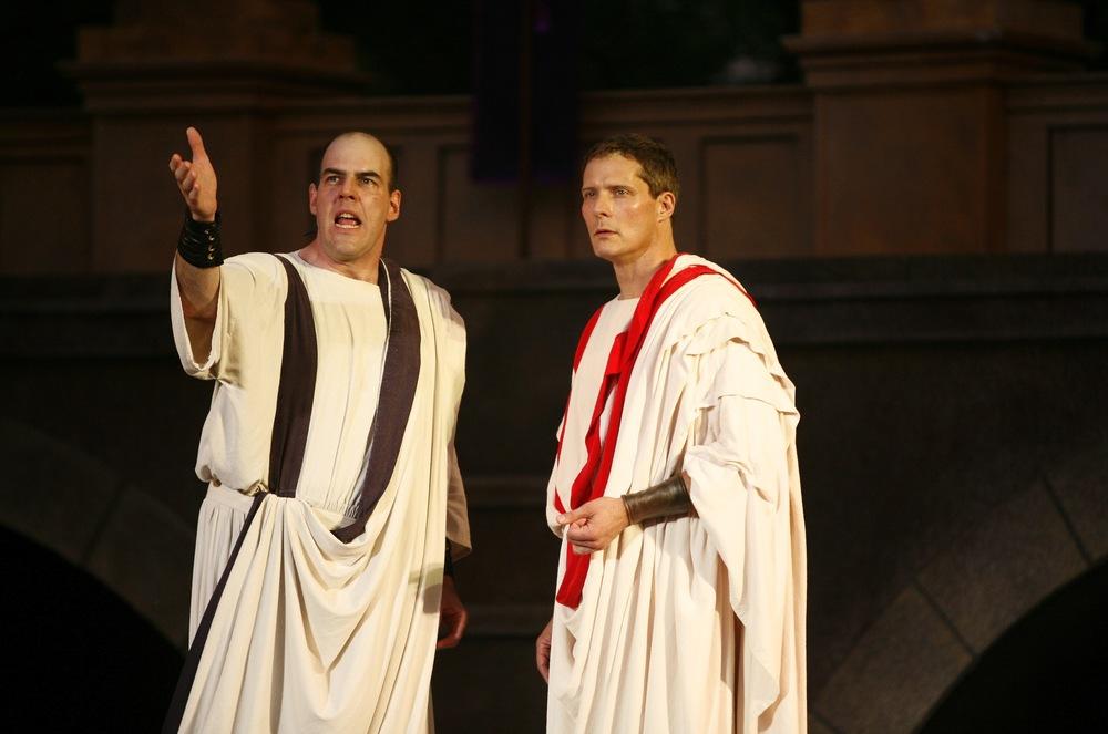 Julius Caesar - Cassius (Mark Mineart), Brutus (David Andrew Macdonald).jpg