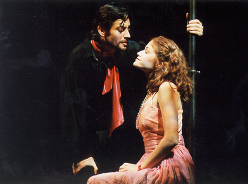 The Fantasticks - El Gallo (Perry Ojeda), Luisa (Erica Piccininni).JPG