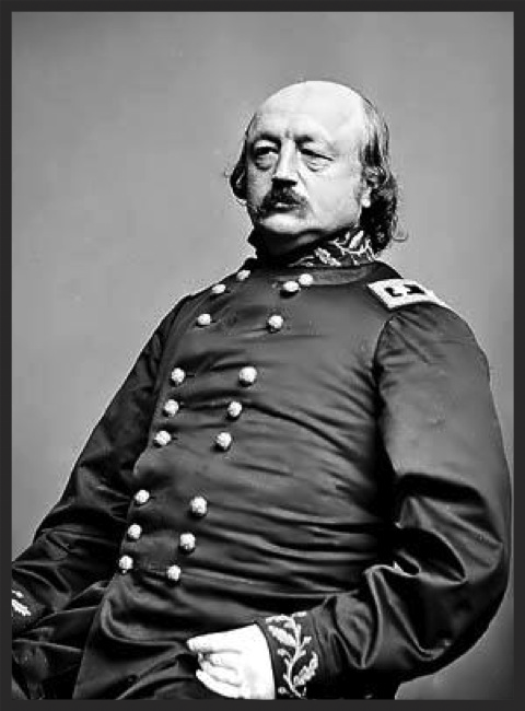 Major General Benjamin Franklin Butler