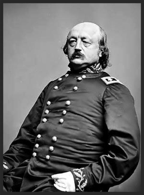 Major General Benjamin Franklin Butler