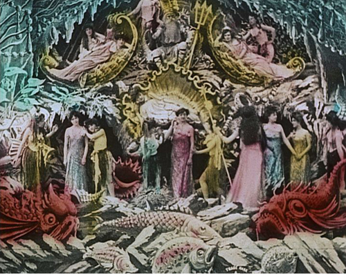 LE ROYAUME DES FÉES  /  THE KINGDOM OF FAIRIES  (1903) from  GEORGES MÉLIÈS: First Wizard of Cinema (1896-1913).