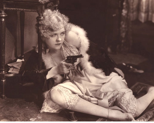 Phyllis Haver as Roxie Hart in CHICAGO (1927)