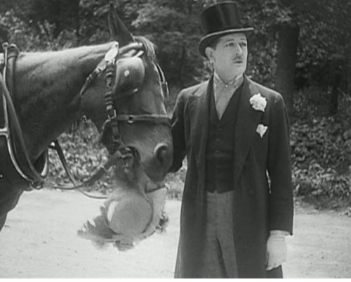 Albert Préjean as Fadinard in  THE ITALIAN STRAW HAT  (1927)