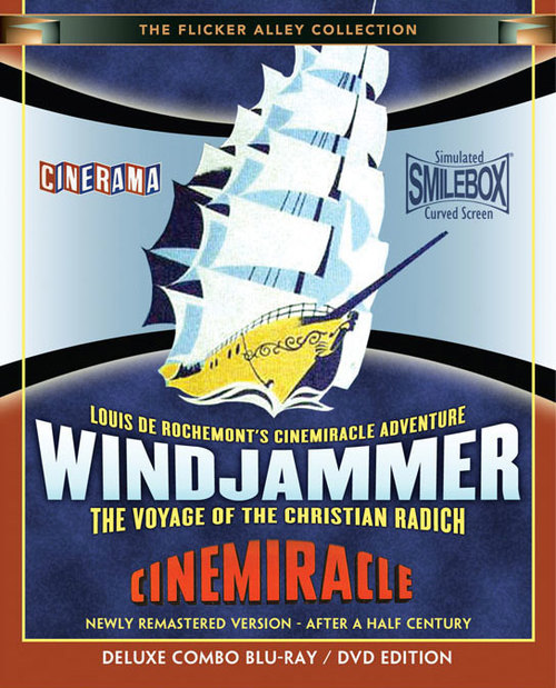 WINDJAMMER Blu-ray/DVD Combo