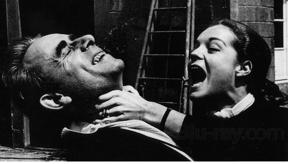 Henri-Georges Clouzot & Romy Schneider on the set of L'ENFER in 1964.