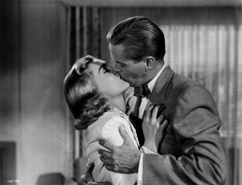 Lizabeth Scott and Dan Duryea in TOO LATE FOR TEARS