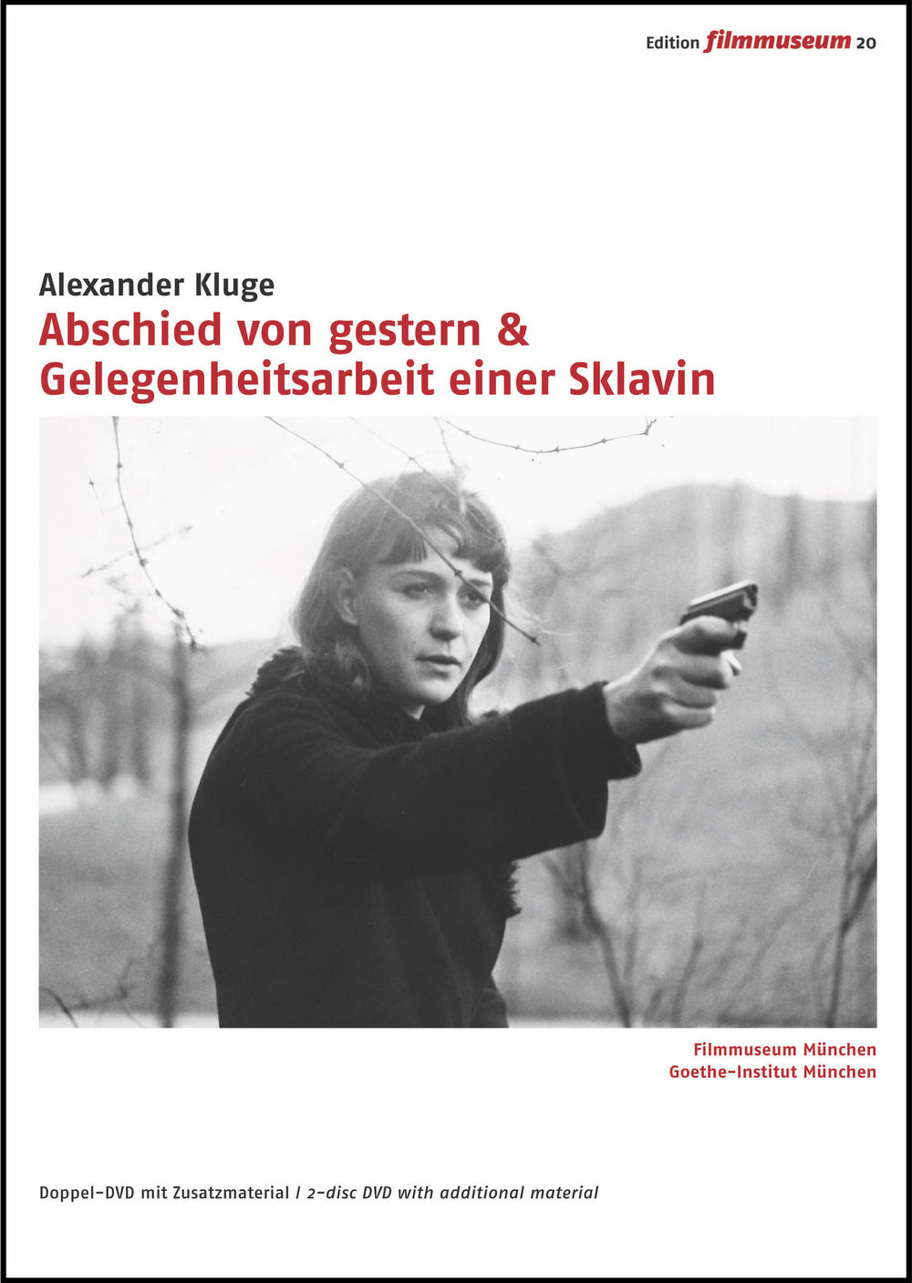 These two films by Alexander Kluge both star his sister Alexandra Kluge in  the leading role. YESTERDAY GIRL (1966) is about Anita G., a young East  German ...