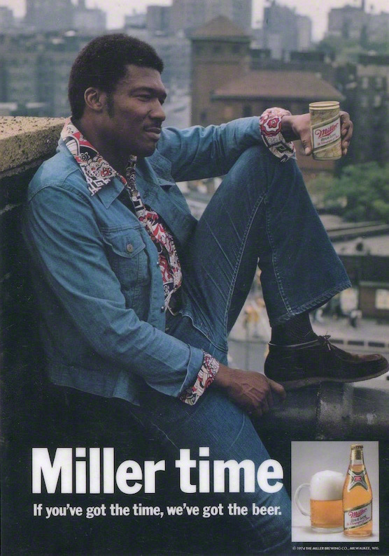 Miller Beer Advertisement   (1974)
