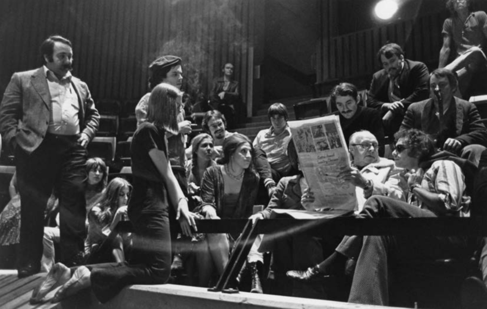 Group 1 of the juilliard school's acting program (c. 1972)