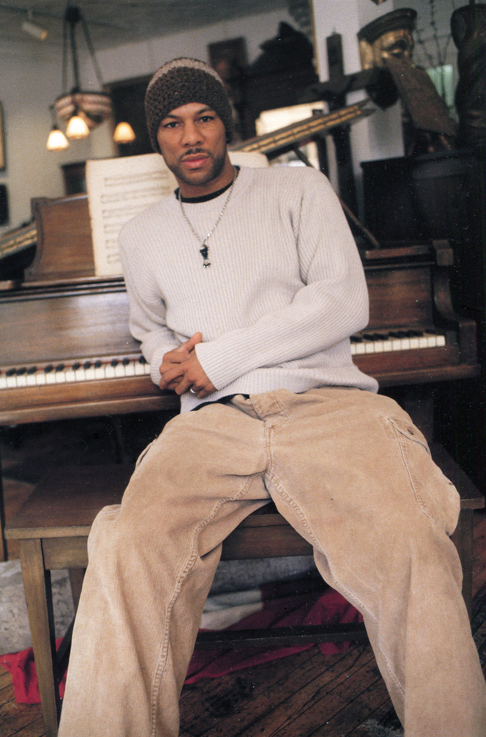 - Common photographed by Hugh Bell in 1998
