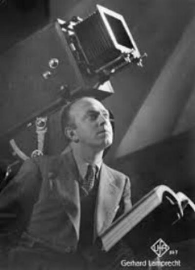 FILMMAKER GERHARD LAMPRECHT