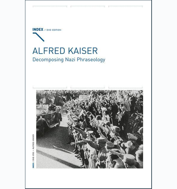 ALFRED KAISER - Decomposing Nazi Phraseology cover FRAMED2.png