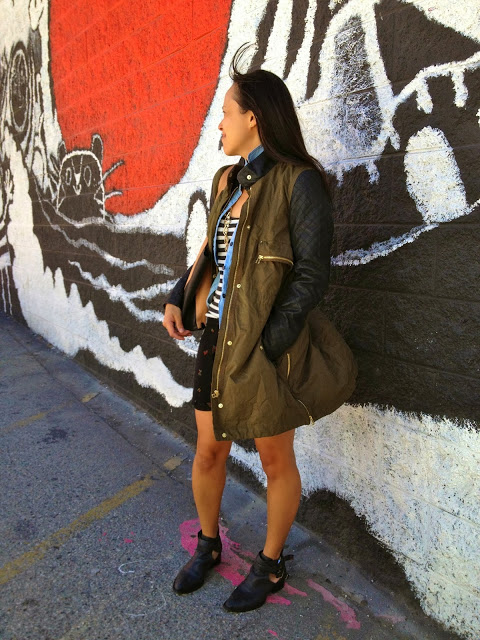 Zara jacket, military chic, military inspired trend