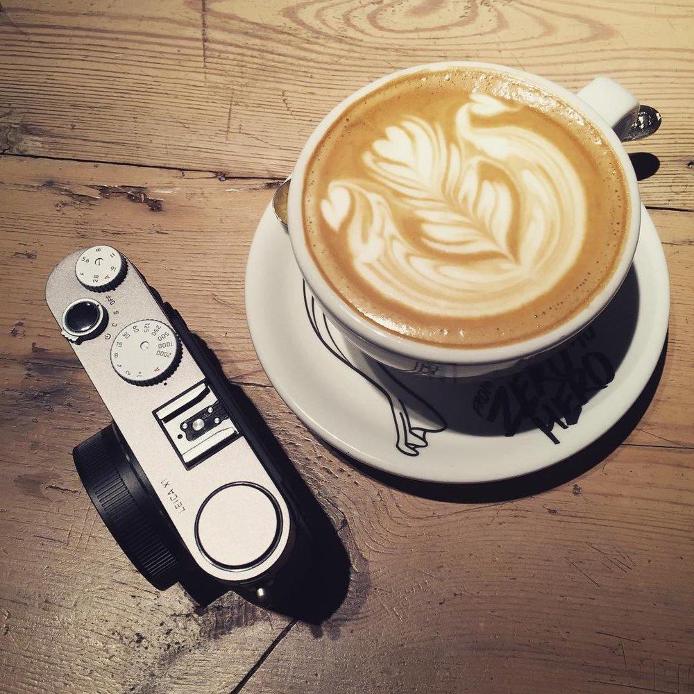 Have a cup of coffee with she #life #sensoryzero #lanecrawford #coffee #coffeelover #leica #x1 #hongkong #香港 #hkig #630club.jpg