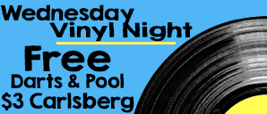 Every Wednesday - From 8PM - Midnight!Bring your own records to play