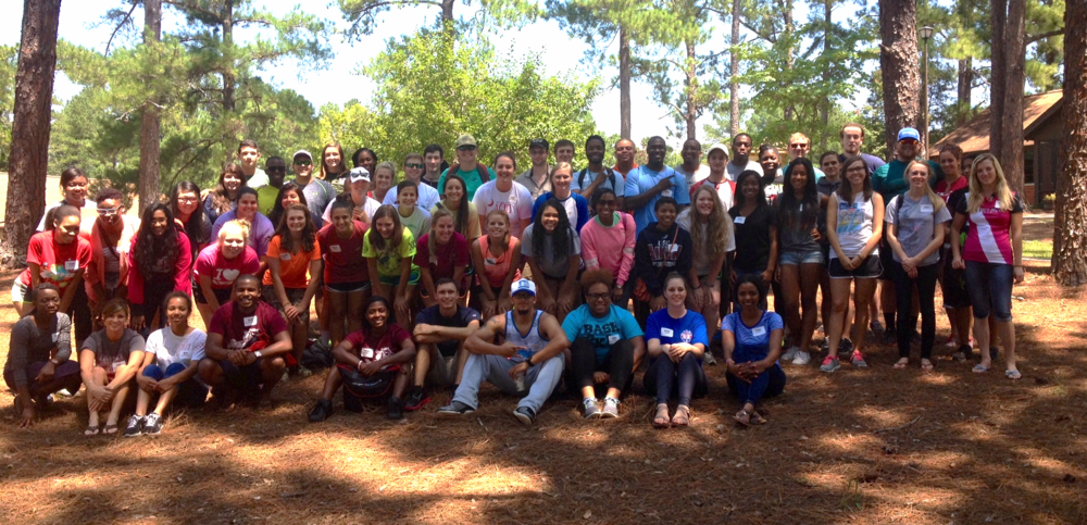 Club retreat at the University of South Carolina - Aiken.