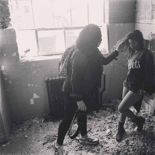 Sneak Peak 2 | A couple of the hardest working females we know.  @mandalovpanda @beeazyreezy #beautifulinsideandout #queens #classynottrashy #YASBAE #workhardplayhard #breadandbullets #2015 #lehgo