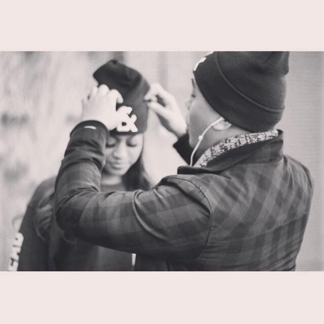 Teamwork makes the dream work. #prepping #aqueen #kingdommade #vanity #nahhh #breadandbullets