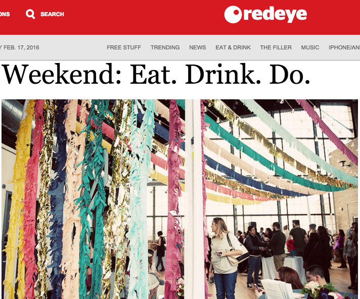 Weekend: Eat. Drink. Do, Red Eye