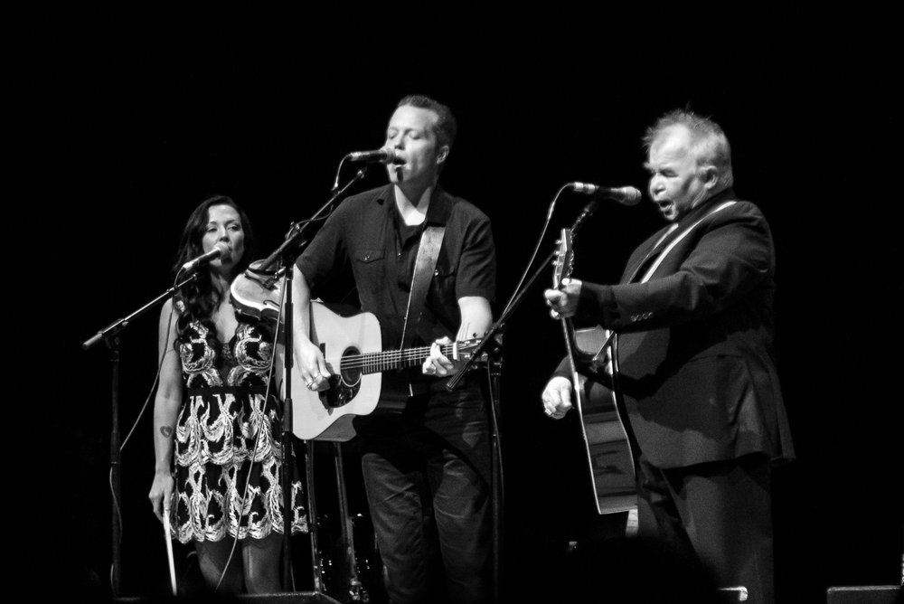 Amanda Shires, Jason Isbell, and John Prine