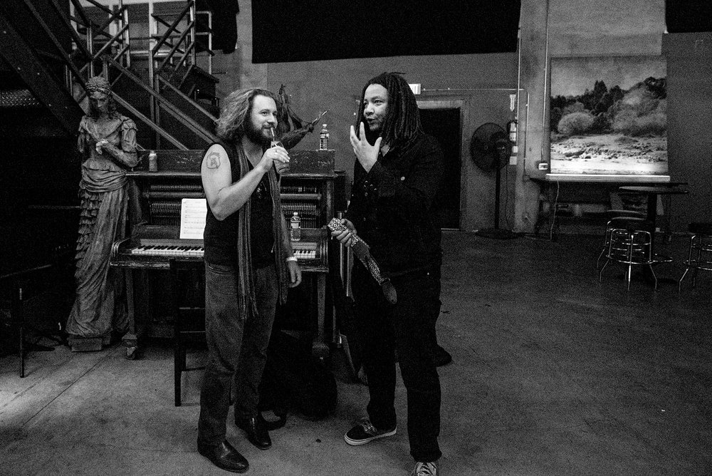 Jim James and Miwi LaLupa