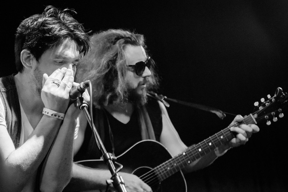 Conor Oberst and Jim James