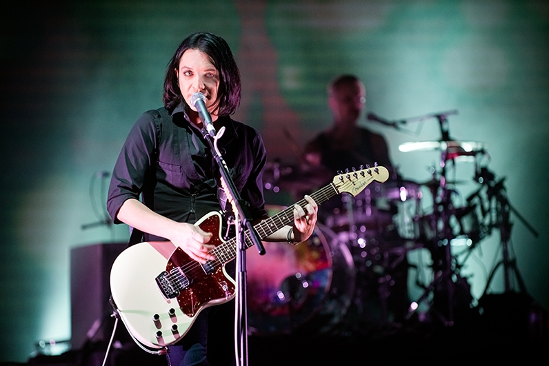 On Friday I made some photos of Placebo at the Wiltern.  More photos HERE. I've waited so many years to photograph Placebo! I've been so grateful over the years to shoot almost every band on my bucket list and Placebo was one of the last few remaining. I've been waiting for them to come back to the states for years. Sleeping With Ghosts, Black Market Music, and Without You I'm Nothing were three of my most listened to albums when I was younger. All Images Copyright © Lindsey Best. Please do not steal my images without prior consent & proper credit.  If you're interested in licensing an image or acquiring a print, please email me. www.LindseyBest.com