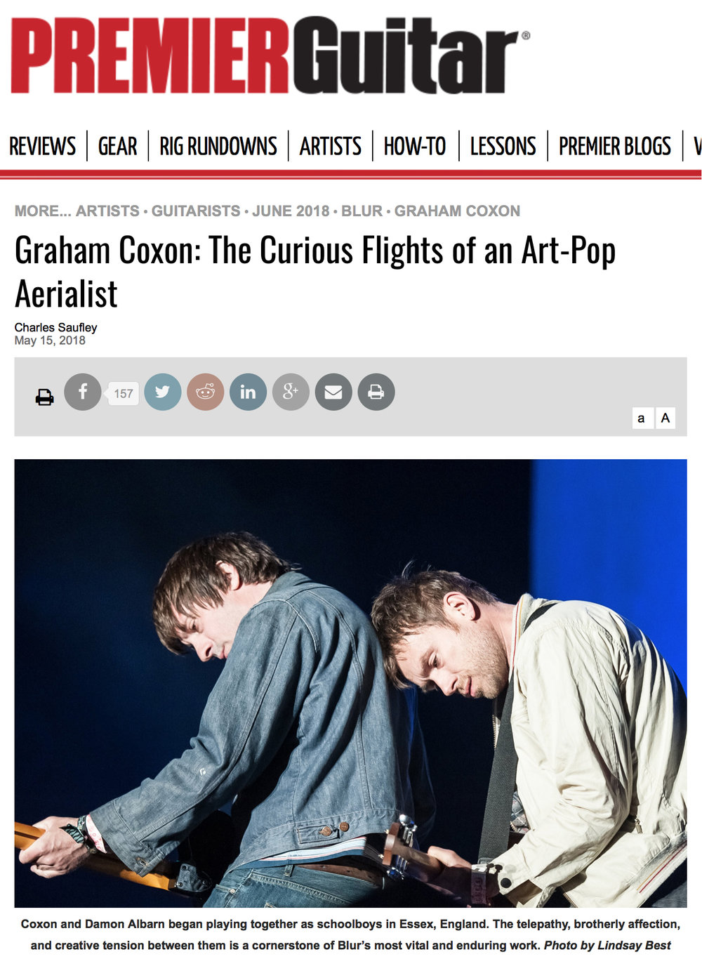 lindsey best music photography graham coxon damon albarn blur